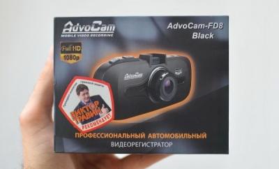Видеорегистратор AdvoCam FD8 Black