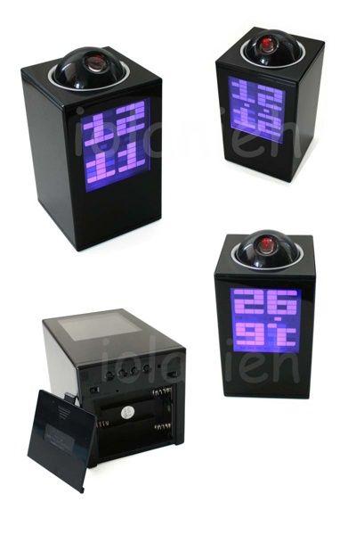 Часы проектор будильник термометр Led Laser Clock