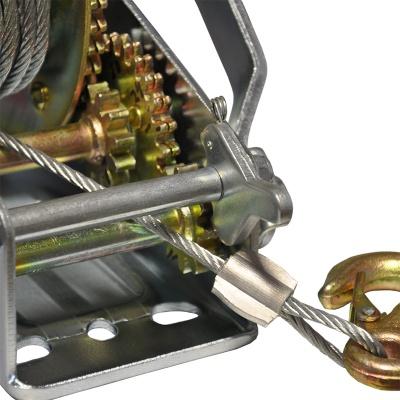 Лебедка ручная барабанная Skiper ЛР 3000 (механическая)