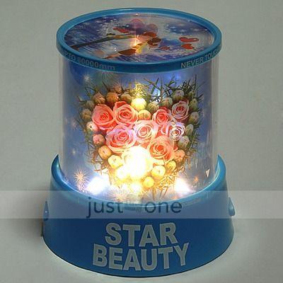"""Ночник светильник Star beauty """"Романтический проектор Розы"""""""