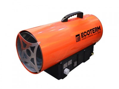 Тепловая пушка газовая Ecoterm GHD-50T (нагреватель прямой)