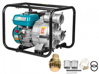 Мотопомпа бензиновая ECO WP-1303D (для загрязнённой воды)