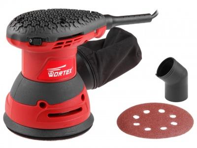 Эксцентриковая шлифмашина WORTEX RS 1245-1 AE