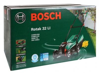 Газонокосилка Bosch Rotak 32 Li-Ion (аккумуляторная)