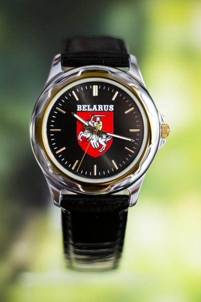 """Часы наручные """"Герб Погоня Belarus"""" 689"""