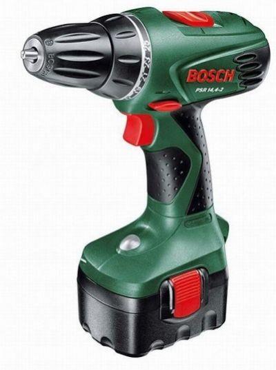 Аккумуляторный шуруповерт Bosch PSR 14,4-2 (1 аккумулятор, 1,5 А/ч)