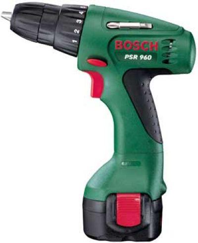 Аккумуляторный шуруповерт Bosch PSR 960 (2аккумулятора, 9,6 В)