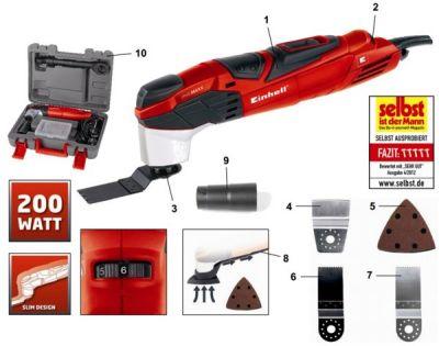 Мультишлифмашина Einhell RT-MG 200 E (многофункциональный Инструмент)