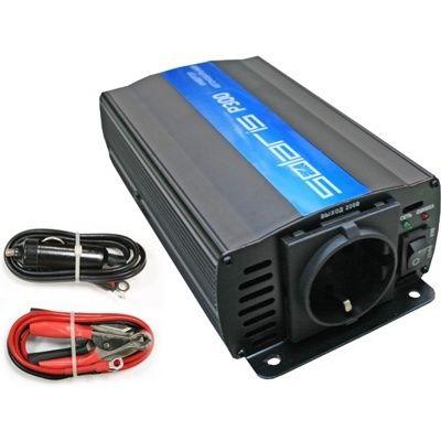 Преобразователь напряжения (инвертор автомобильный) Solaris P300 (12В/220В, 300 Вт)