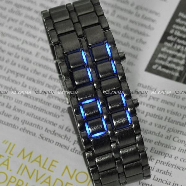 Светодиодные часы унисекс iron samurai в минске
