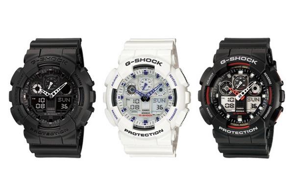 Купить Часы наручные спортивные Casio G-Shock GA-100 - реплика за ... f0d16ef1de92e