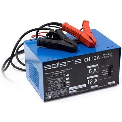 Зарядное устройство Solaris CH 12A (12В, 12А, автоматическое)