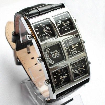 Мужские часы с 6 циферблатами в Егорьевске Дешевые часы