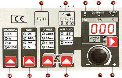 Сварочный полуавтомат Telwin DIGITAL MIG 220 230-400V