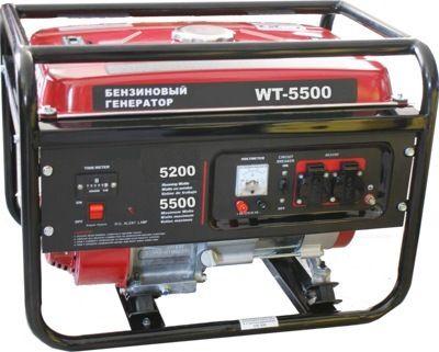 Бензиновый генератор Watt WT-5500
