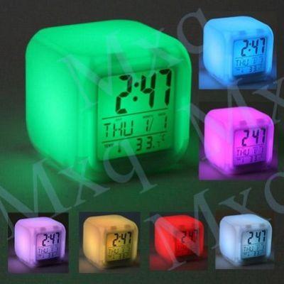 Часы светодиодные настольные будильник термометр календарь Led Clock