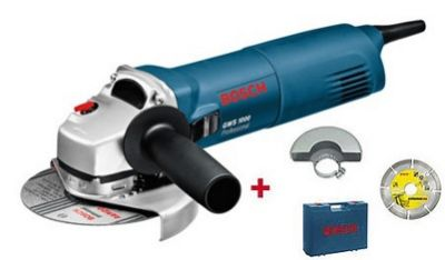 Одноручная углошлифмашина Bosch GWS 1000 + Акция