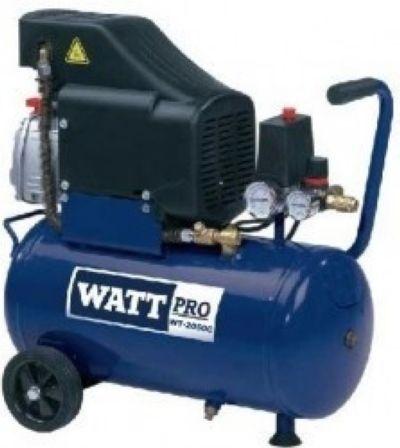 Компрессор Watt WT-2050C с набором пневмоинструментов, 220 л/мин, 8 бар, 50 л, 1,5 кВт