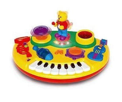 Kiddieland 031864 Пианино с танцующим Мишкой