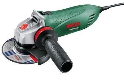 Одноручная углошлифмашина (болгарка) Bosch PWS 750-125