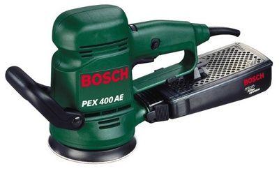 Эксцентриковая шлифовальная машина Bosch PEX 400 AE