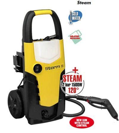 Очиститель высокого давления мойка Lavor Storm II 17 Steam