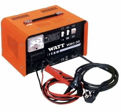 Зарядное устройство к автомобильным аккумуляторам WATT WBC-50