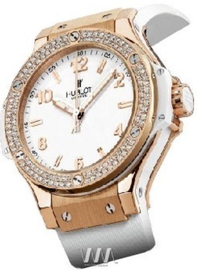 Часы наручные женские HUBLOT BIG BANG 38 ALL WHITE реплика