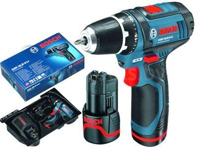 Аккумуляторный шуруповерт Bosch GSR 10,8-2 LI(2 акк, 1.3 А/ч)