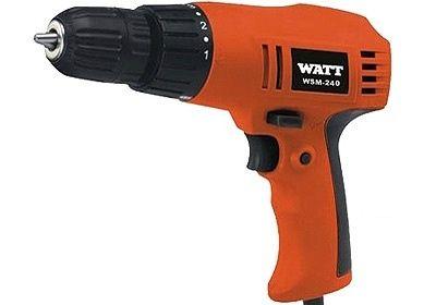 Дрель (винтовёрт) WATT WSM-240 (240 Вт, БЗП, в коробке)