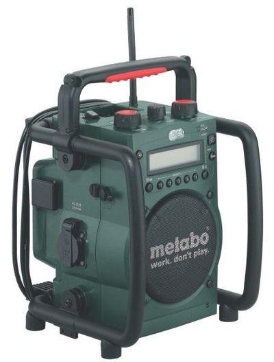 Аккумуляторный радиоприемник Metabo RC 14,4 – 18
