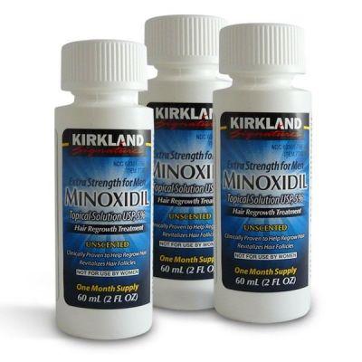 Миноксидил Minoxidil 3 месяца