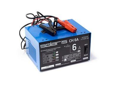 Зарядное устройство Solaris CH 6MD (6В/12В, 6А)