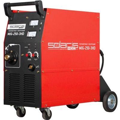 Полуавтомат сварочный Solaris MIG-250-3HD+ AK (380B,50-250A)