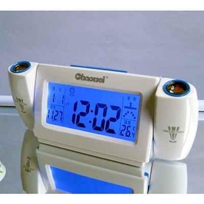 Часы настольные будильник проектор Chaohei CW8099D