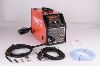 Сварочный полуавтомат  инверторного типа WATT MIG 210