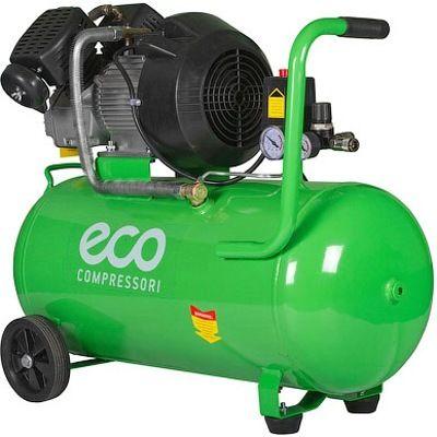 Воздушный компрессор 2-х поршневой коаксиальный ECO AE-702-22